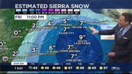 Jeff's Forecast: Rain & Sierra Snow