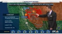 Jeff's Forecast: Smoke, Heat & Fire Warning