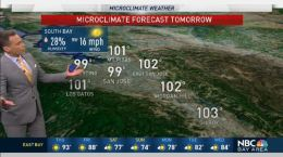 Jeff's Forecast: Hot 100s Thursday; Weekend Temp Drop