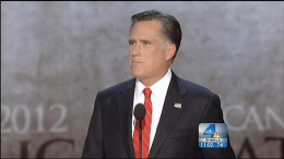 Mitt Romney Accepts Republican Nomination