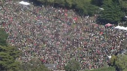 Thousands Descend on 4/20 Smokeout in Golden Gate Park