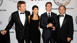 Tom Cruise Honored in New York City