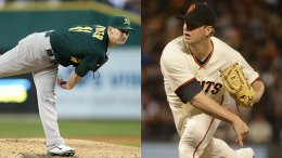 Big Day For Bay Area Baseball: Giants, A's