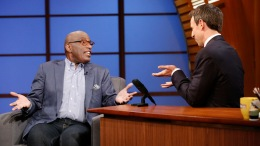 "Roker Talks Climate Change on ""Late Night"""