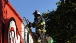 SFFD Battles Mission Fire