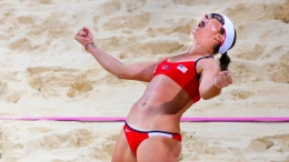 PHOTOS: Beach Volleyball's Great Bodies, Bikinis & More