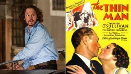 "Johnny Depp's ""Thin Man"" Remake Gets a Writer"