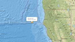 6.5M Earthquake Hits 100 Miles off Ferndale, Humboldt County