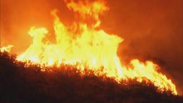 Wildfire in Santa Cruz Mountains Prompts Evacuations