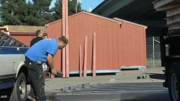 Oakland Builds Tuff Sheds to Temporarily House the Homeless