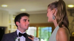 "Teen Has ""Surreal"" Prom With Supermodel Date"