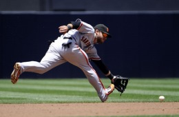 Giants vs. Padres, 8-3 Victory