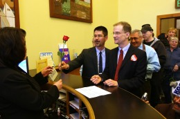 Prop 8 Supporters Want Marriage Benefits Stripped