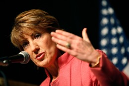 Carly Steps Up Senate Run, Faces Tough Questions