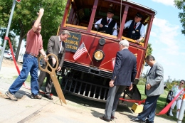 Historic Trolley Gets a Facelift