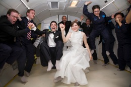 "Saying ""I Do"" in Zero Gravity"