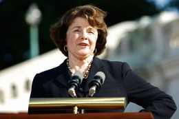 Feinstein Joins Gay Marriage Supporters