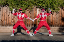 Power Rangers Flex Their Political Muscle