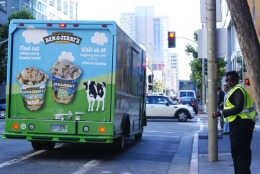 Ben and Jerry's Ice Cream Truck Is Here to Stay