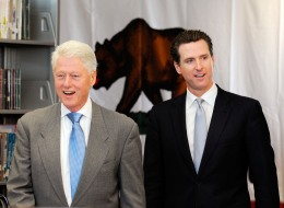 Newsom Channels Obama for New Campaign Push