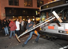 Alleged Muni-Smasher Pleads Not Guilty