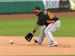 Images of the SF Giants Work Out