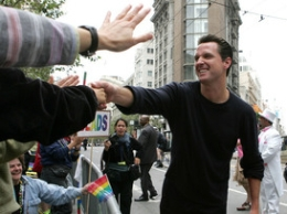 Newsom Hopes New Year Strips Him of Celebrity Status