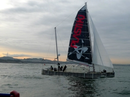 Plastiki Sets Sail for Sydney