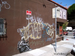 Banksy Piece Edited to Honor Frank Chu