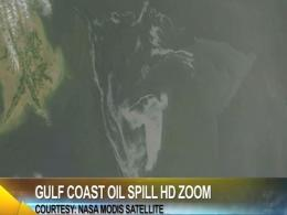 Gulf Oil Spill Update:  HD Imagery and Projected Path