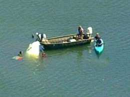 Small Plane Crashes in Lagoon
