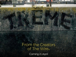 "David Simon's ""Treme"" Gets Premiere Date"