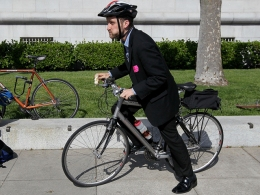 Bike to Work Day Draws Pols, Workers and Everyone in Between