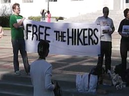Detained Hikers' Supporters Mark 2 Months