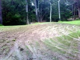 Vandals Rough Up Golden Gate Park Golf Course