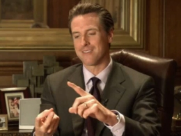 Not So Fast: Newsom Not Ready to Sell Wine