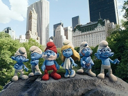"Review: ""The Smurfs"" Makes Us Blue"