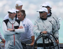 Larry Ellison Trims Sails for America's Cup