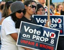 Thousands Protest in Sacramento Against Prop 8