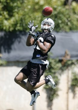 Raiders Training Camp 2010