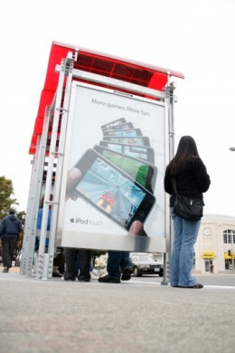 Muni Introduces New Bus Shelter