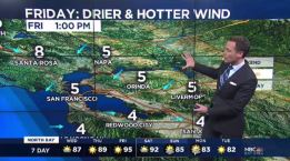 Jeff's Forecast: 60s to 100s & Fire Danger