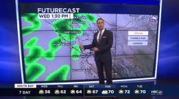 Jeff's Forecast: Wednesday Rain Chance