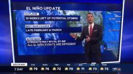 Jeff's Forecast: Mild 70s & El Niño Update