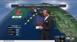 Jeff's Forecast: AM Fog, Heat Soon & 14 Day Outlook