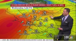 Jeff's Forecast: Wind & Rain To Help Smoke