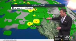 Jeff's Forecast: Warm Trend and Rain Chances