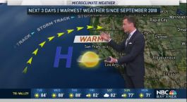 Jeff's Forecast: Warmest in 7 Months
