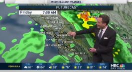 Jeff's Forecast: Cool Shower Chance