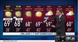 Jeff's Forecast: Smoke Forecast & When It Clears